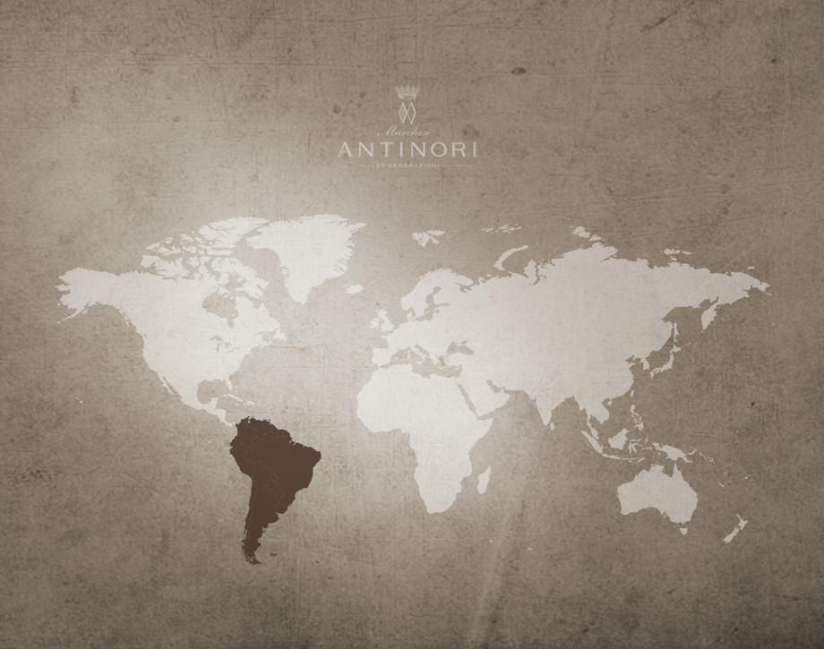 Distribuzione in America del Sud